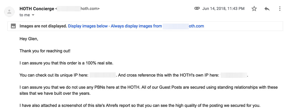 I Bought Guest Post Links from The Hoth: A Detailed Review