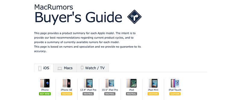 Apple Buyers Guide Macbook Pro - WordPress.com