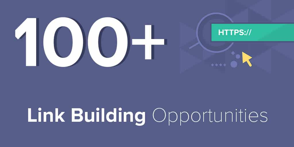 100+ Link Building Opportunities from My Private Database
